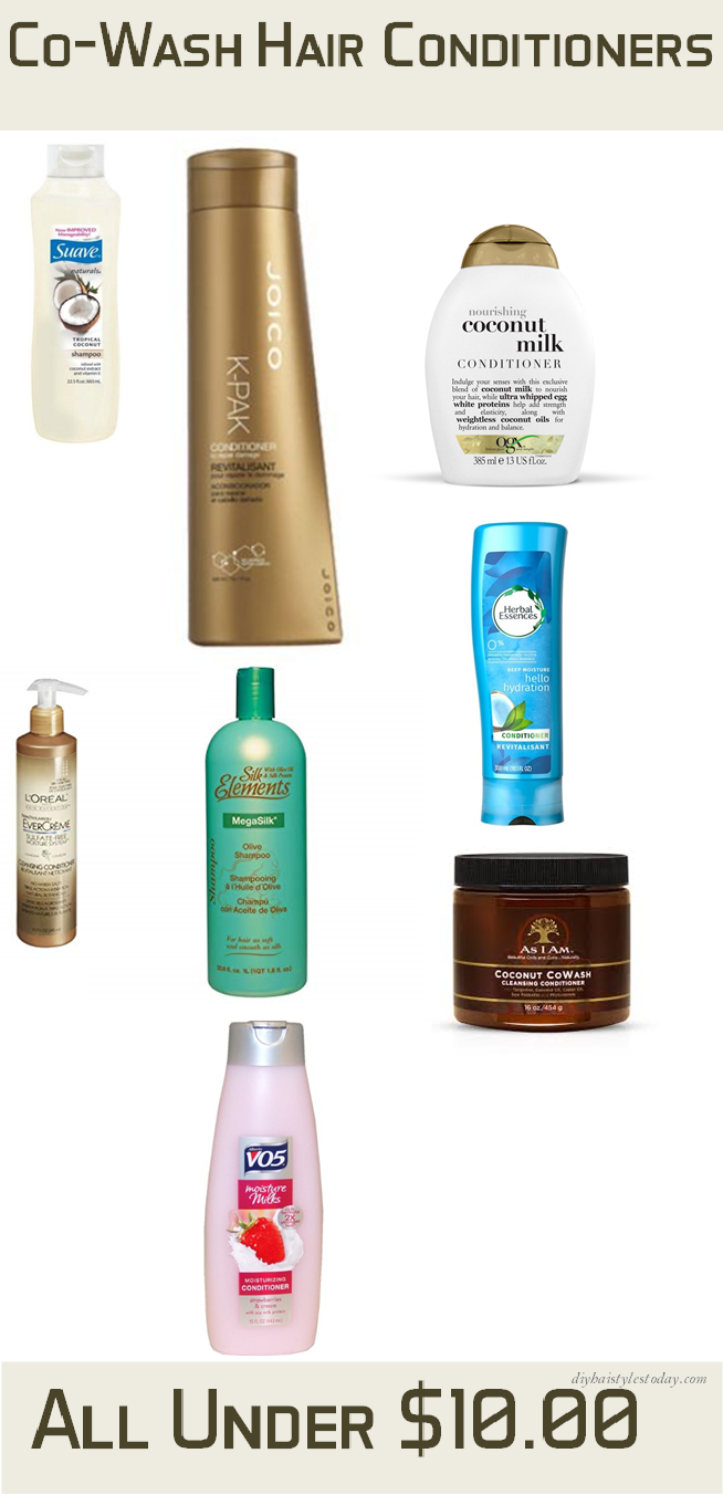 Co-Wash Hair Conditioners