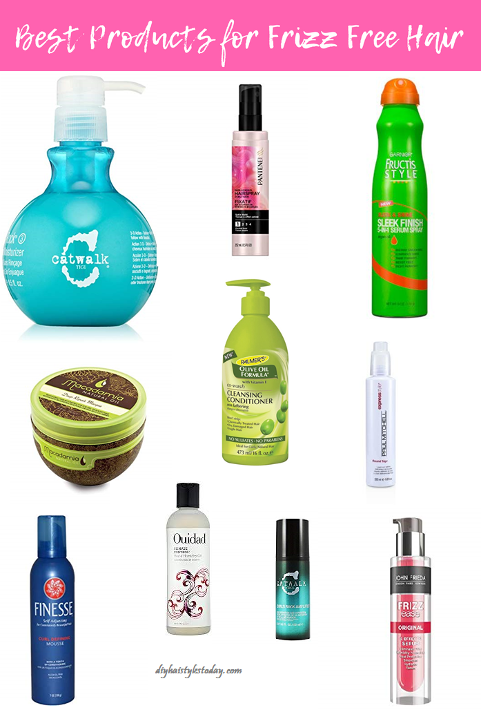 Frizz Free Hair Products