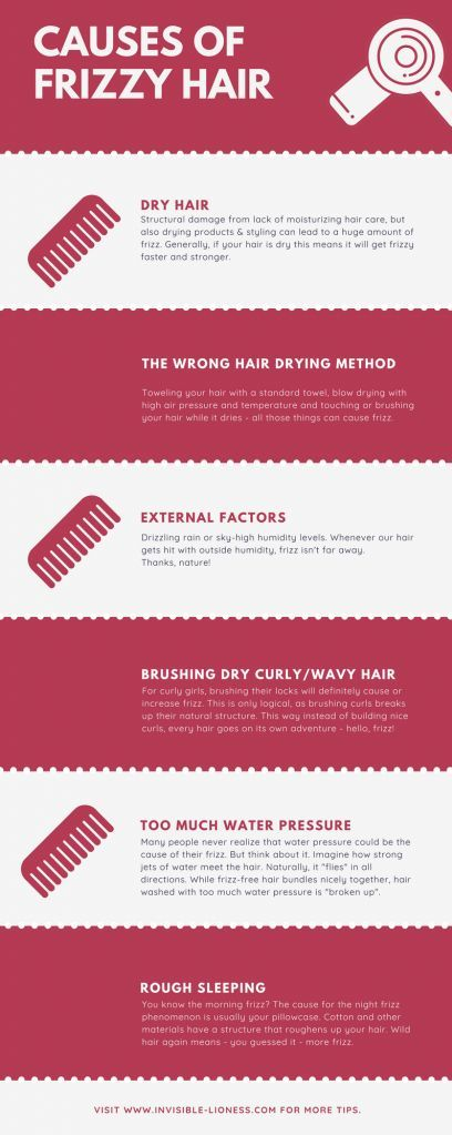 frizzy hair causes