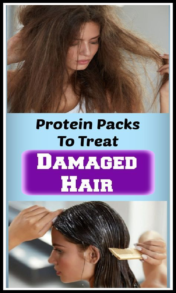 protein packs for damaged hair