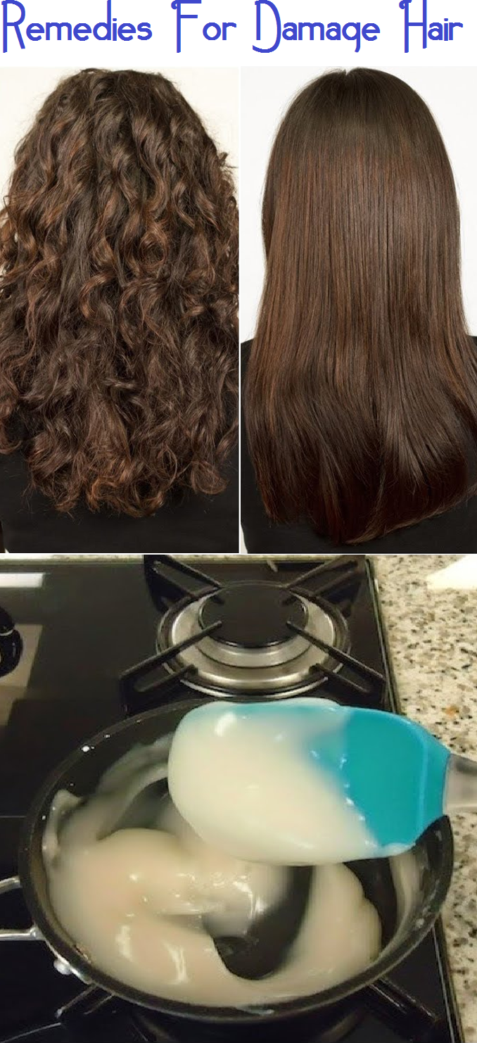 Remedies For Damage Hair