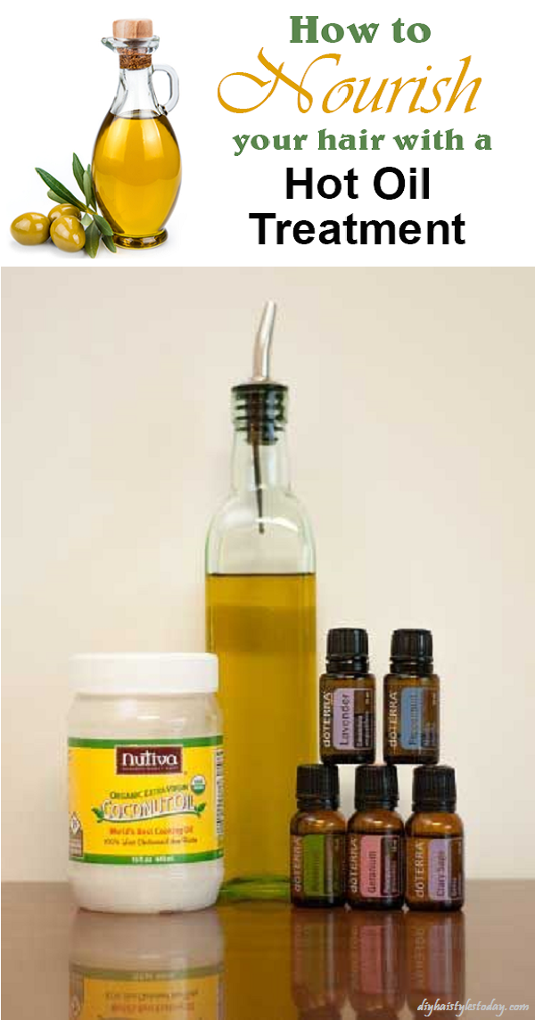 Treatment With Hot Oils