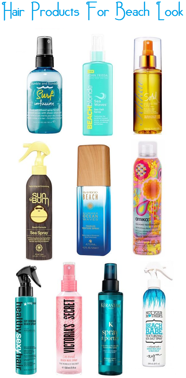 Hair Products For Beach Look