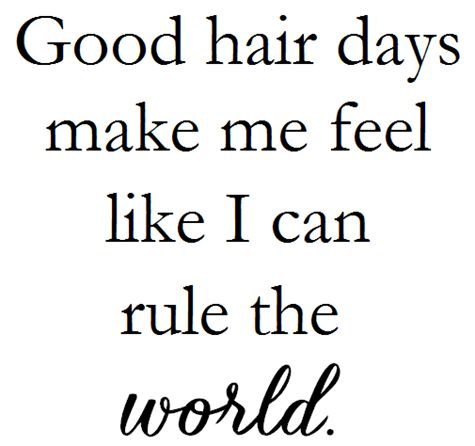 healthy hair quote