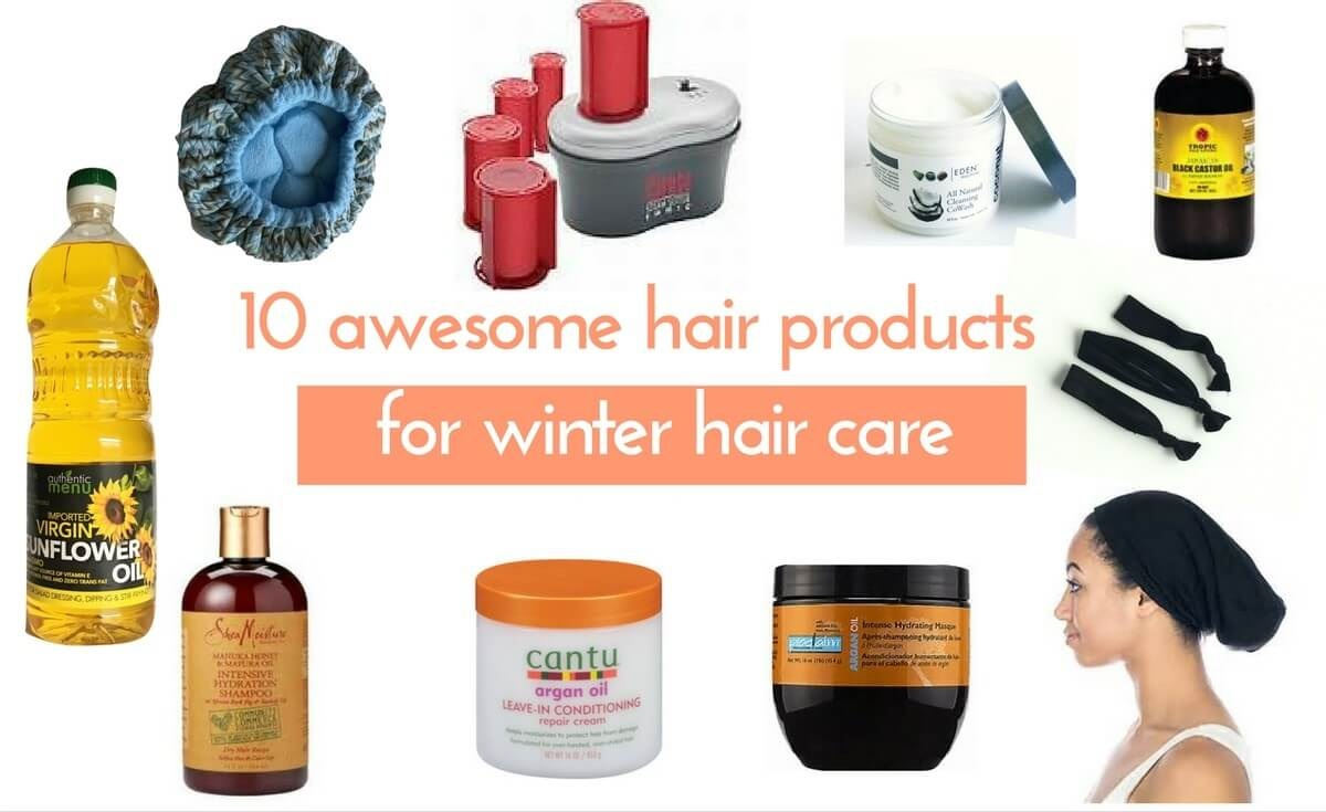 Winter Care Hair Products